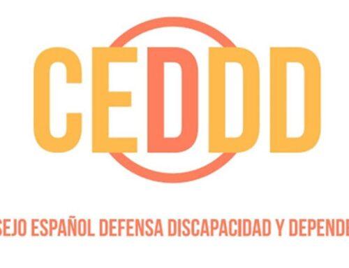 Incorporación a la firma del Consejo Español para la Defensa de la Discapacidad y la Dependencia