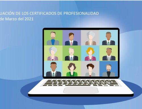 Jornada Anual: Situación de los Certificados de Profesionalidad